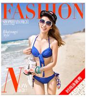 3 pcs/set Brand M L XL  Women Swimwear Bikini Set Swimsuits Suits 2014 new swimwears for women bikini set women swim