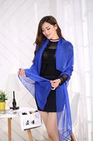 1PC 70*160cm popular lady style solid color soft feeling long chiffon silk scarf/WJ-135