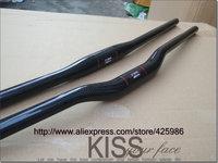 2014 new SUP MTB bike bicycle handlebar carbon fibre flat / riser handlebar 31.8*600/620/640/660/680/700mm