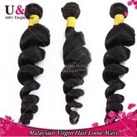 Rosa Hair Products Malaysian Virgin Hair Loose Wave Bundles 3pcs Lot 6A Grade Unprocessed Virgin Malaysian Human Hair Weaves