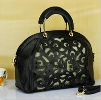 2014 Vintage new hollow out women handbag shoulder bag diagonal package European and American big brand big capacity tote bag