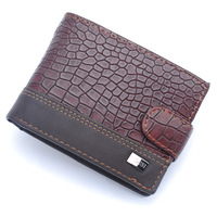 New Eurpean Style Men Wallets Short Design PU Standard Wallet Fashion's Dollar Package Coin Purse Card&ID Holder