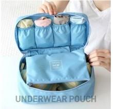 Ropa interior portátil de viaje bolsa de caja de almacenamiento de las bragas bolsa de almacenamiento de la ropa interior del sujetador bolsa de lavado bolsa de red(China (Mainland))