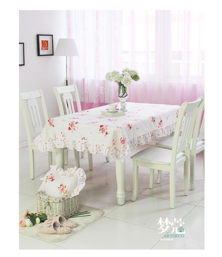 MK 2015 new Flower Korean Pastoral lace fabric table cloth mat round tablecloths table cloth table cover(China (Mainland))