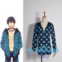 Free! Iwatobi Swim Club Haruka Nanase Gou Matsuoka Title Cover Rei Ryugazaki Poster Dot style customized jacket versions