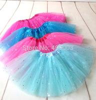 10pcs/lot Free Shipping New arrive Baby Girls Skirts Kids Infant  Sequin Tutu Skirt  Dance Party Fancy Pettiskirt