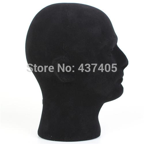 Free Shipping Male Styrofoam Black Foam Mannequin Manikin