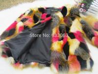 Free shipping luxury faux rabbit fur fox fur coat women fashion waistcoat cape colorful lady faux fur can customized ,From Korea