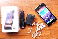 Original Huawei Honor 2 U9508 Quad Core Mobile Phone 2GB RAM 8GB ROM Single Sim Card With Free Gifts Russian Spanish In Sock