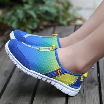 Мода бренд весна / лето женщин свет в конце сетки запуск спортивная обувь, женщин ...