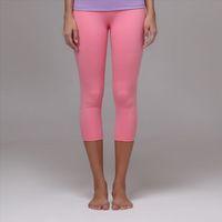 Ladies nylon and spandex yoga capri pants wholesale.Cheap women's yoga leggings.OEM yoga&sports clothing