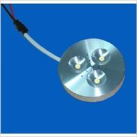 free shipping 3W LED Cabinet Light Lamp Ceiling Light Cool White 5pcs/lot