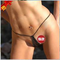 Women's Tiny Teardrop Sexy G-String - Ladies' MIcro Bikini Thong T-Back Panties Brief Lingerie Underwear Swimwear Lover Sex Toy