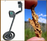 Free shipping High quality,  smart sensor AR924 rechargeable, gold digger treasure hunter underground metal detector