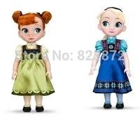 Original Bonecas Princesa Elsa and Anna Doll 40cm 16'' Fantasy Princess Dolls for Girls Gifts Free Shipping