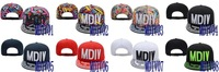 Free shipping-Hip-Hop!! MDIV Snapback hats,Flower adjustable caps,20PCS/LOT