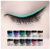 new 2014 Music Flower Shimmering Cream Eye 12 Color Shimmer,Natural Eye Shadow