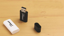 Wireless Bluetooth Music Receiver Stereo Audio Adapter USB Dongle Receiver For iPhone iPad speaker free shipping(China (Mainland))