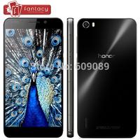 Original Huawei Honor 6 Kirin 920 Octa Core 1.7GHz 4G FDD LTE 3GB RAM 5.0 Inch FHD 1920x1080P 13MP Android 4.4 Dual SIM Phone