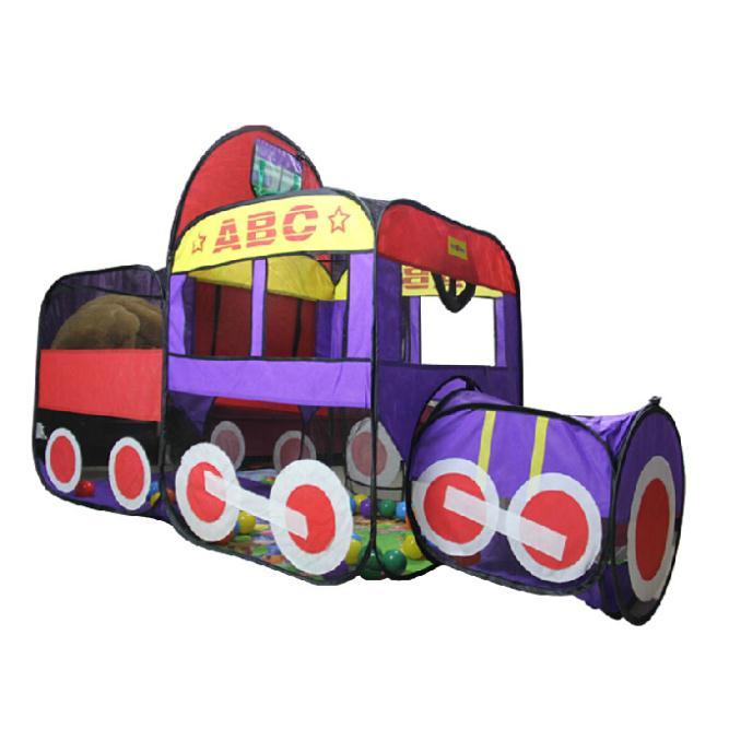 dobrável interior/exterior divertido& carro esporte de corrida jogos jogar playground infantil casa cesta barraca túnel por crianças/brinquedo do bebê(China (Mainland))