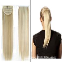 2014 Fashion Brazilian Virgin Ponytails Hair 70grams/ Piece color 18/P163, 613# High Quality Women Straight  Long Human Hair