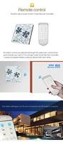 free shipping  smart home Orvibo wifi Smart Switch 1/2/3 Loop