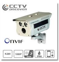 Free shipping  CCTV 1.3M 6mm lens IP 720P Camera  front door Security camera