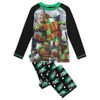 2014 NEW ARRIVAL black 1 SET Ninja turtle Cartoon for boys pajama cotton long sleeve George sleepwear for kids spring kids robe