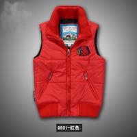 Free ship men's vest winter down jacket many color for choose zipper jumper promotion wholesale price brand down coat