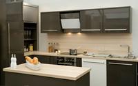 Australia market piano lacquer kitchen cabinet (AGK-103)