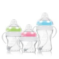 Free Shipping (3 Colors) Standard Portable Newborn Nursing Bottle Feeding Bottles for Milk Juice Water 150ml /240ml/300ml