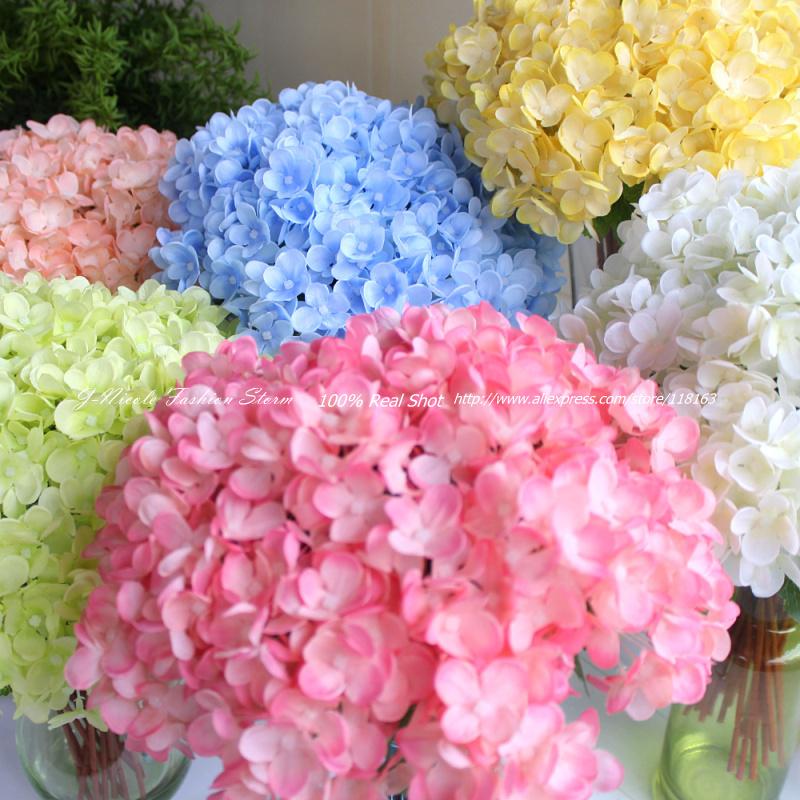 Ultimo 36pcs/lot artificiale mini freschi ortensie matrimonio/home decorazione fiori decorativi per partito spedizione gratuita(senza vaso)