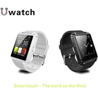 Free Shipping New Bluetooth Smart Watch Fashion Wrist Watch U8 U Watch for Samsung S4/Note2/Note3 Android Phone #XP