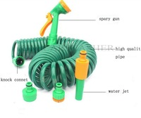 k304 USA Stantard15metre hose car &Garden Garden Water Guns Garden Water Sprinkler+high quaity elastic hose water sprayer