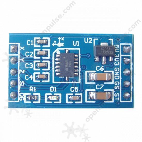 Netduino Go with MMA7361 Accelerometer - Netduino