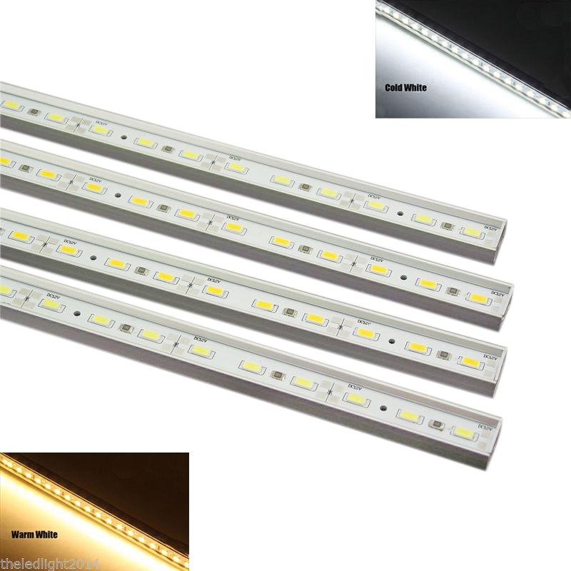 4PCS Free Shipping LED Rigid Strip, 30 5630SMD DC12V 10W LED Rigid Bar with Aluminum Alloy Shell, Dimmable LED Bar Light(China (Mainland))