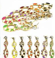 2014 European style the ear ring spring luxury errings woman pearl earring\Wrap Round Rhinestone Stud Exquisite Earrings