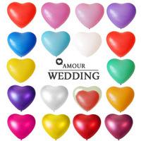 10pcs/lot classic toys 12inch balloon heart balloon love balloon wedding balloon frozen party event & party supplies