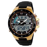 SKMEI 1016 Men Sports Military Watches Waterproof Fashion Casual Quartz Men's Watch Digital Analog Multifunctional Wristwatches