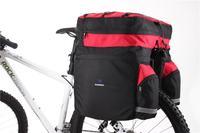 Free Shipping Mountain Bike MTB Bicycle Rear Seat Expandable Pannier Basket Cycling PackBag Back Stacking Shelf Bag 60L