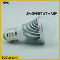 (5pcs/lot)led bulb e27 3W 5W 7W 9W 12W 5730 SMD LED Bulb Light  LampEnergy Saving Led Light free shippingLamps