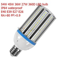 36W E40 LED bulb IP64 waterproof, 3800Lm Ra>80,IP64, Low price high quality only,4pcs/lot,3 years warranty Fedex/ DHL free