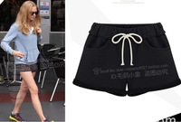2014 women summer shorts casual pant solid color bottom sport shorts for women beach daily shorts 2 color S-XL