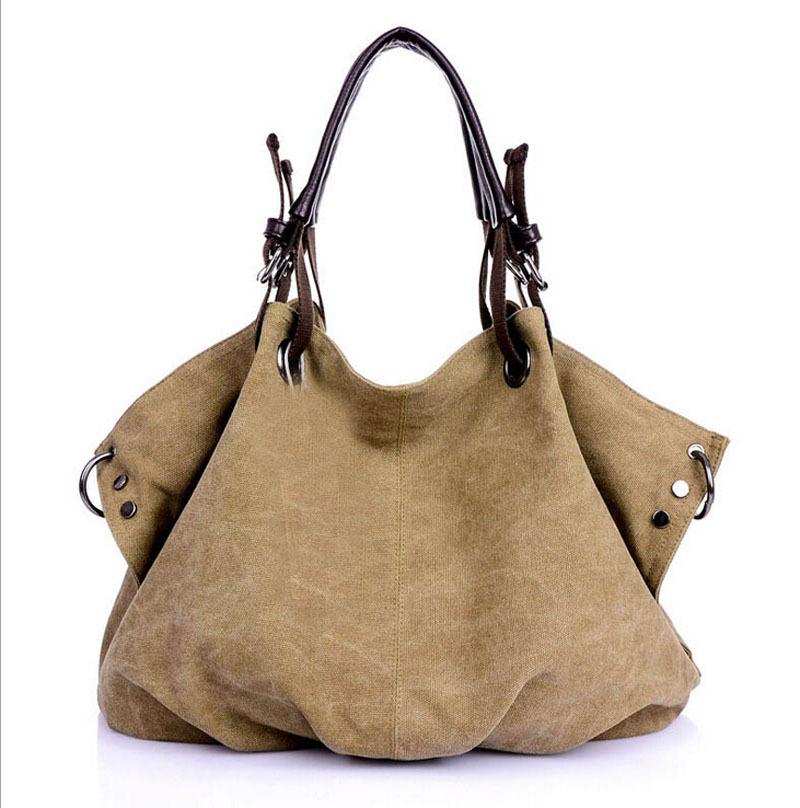 Weekender Bags For Women Fashionable High Quality Women Ladies Weekend Bag Vintage Canvas Bag