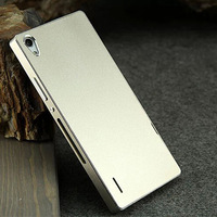Huawei Ascend P7 Ultra-thin Luxury 100% Aluminium Metal Back Cover Case for Huawei Ascend P7 Metal Cover + Flim + Touch Stylus