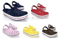 brand men shoes clogs sandals unisex sandals clogs Sandals Hole slippers,flip flop beach Wholesale/Retail