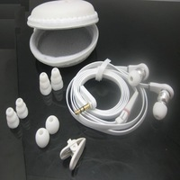 High Quality  handsfree In-Ear Stereo earphone for 3.5mm with free 8 earbuds + carry case Free shipping