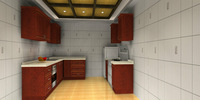 New Deisgn Customized Kitchen Drawing (AGK-119)