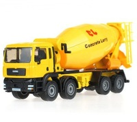 2014 New Arrival Alloy Engineering Car Model Mixer Cement Tanker Truck Model 1:50 High Quality Children Car Toys Free Shipping