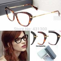 cat eye glasses cat eye glasses frames eyeglasses brand eye glasses 2014 Top Quality  oculos de grau Spectacle Frame 04L Glasses